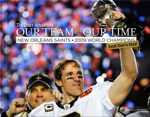 Our Team Our Time: New Orleans Saints: 2009 World Champions Cover