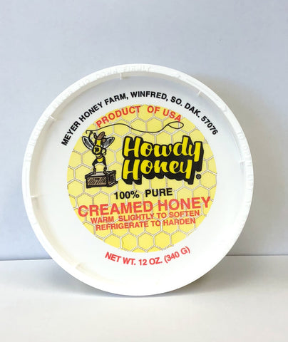 Creamed Honey - 12 oz