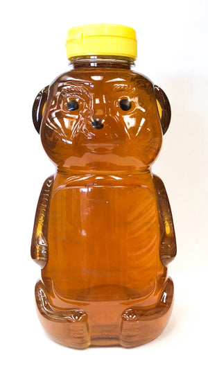 Clover Honey - 2 lb Bear