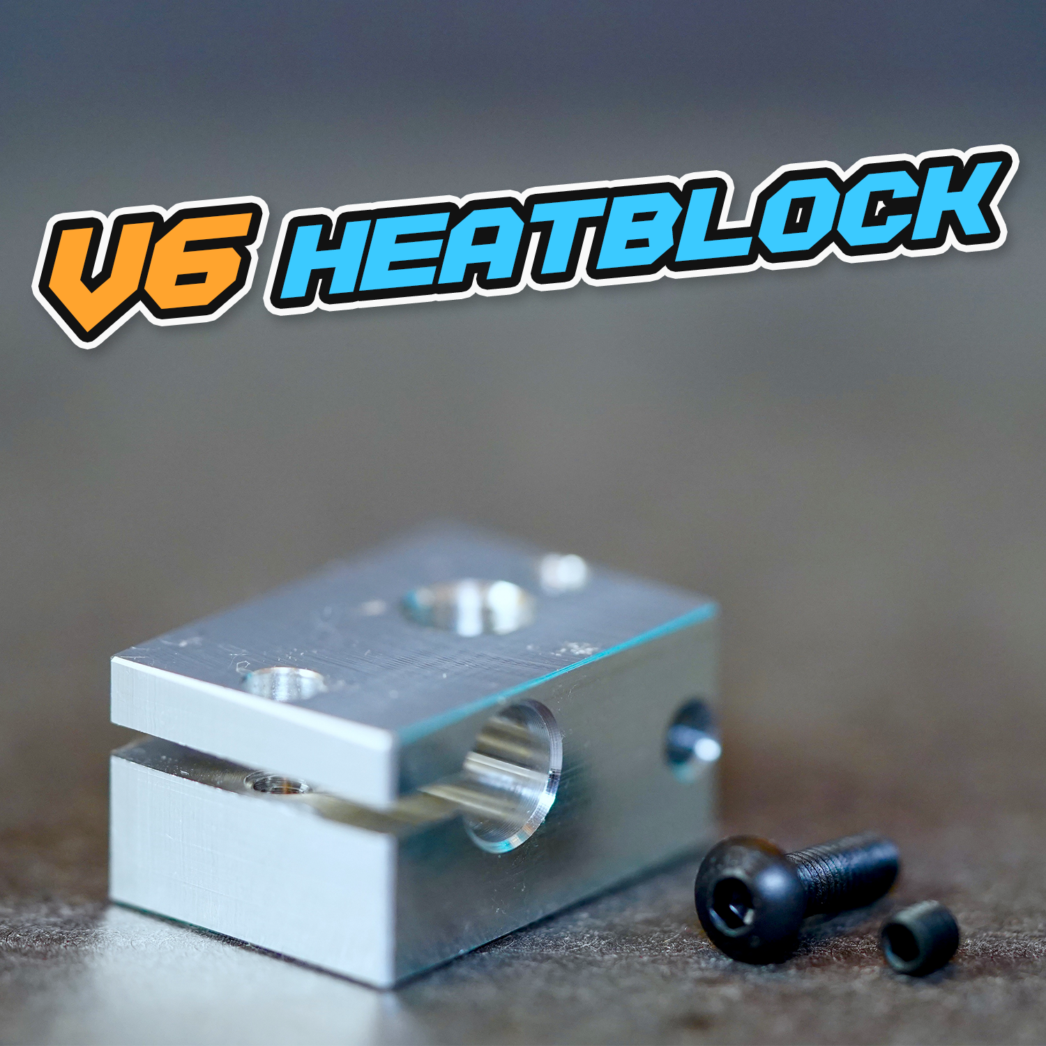 Heatblock V6 (z.B. Anycubic I3 Mega / Anycubic Chiron)