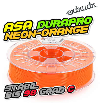 Extrudr ASA DuraPro - Neonorange [1.75mm] (34,64€/Kg)