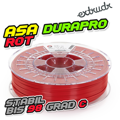 Extrudr ASA DuraPro - Rot [1.75mm] (34,64€/Kg)
