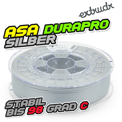 Extrudr ASA DuraPro - Silber [1.75mm] (34,64€/Kg)