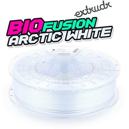 Extrudr BioFusion - Arctic White [1.75mm] (31,23€/Kg)
