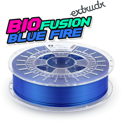 Extrudr BioFusion - Blue Fire [1.75mm] (31,23€/Kg)