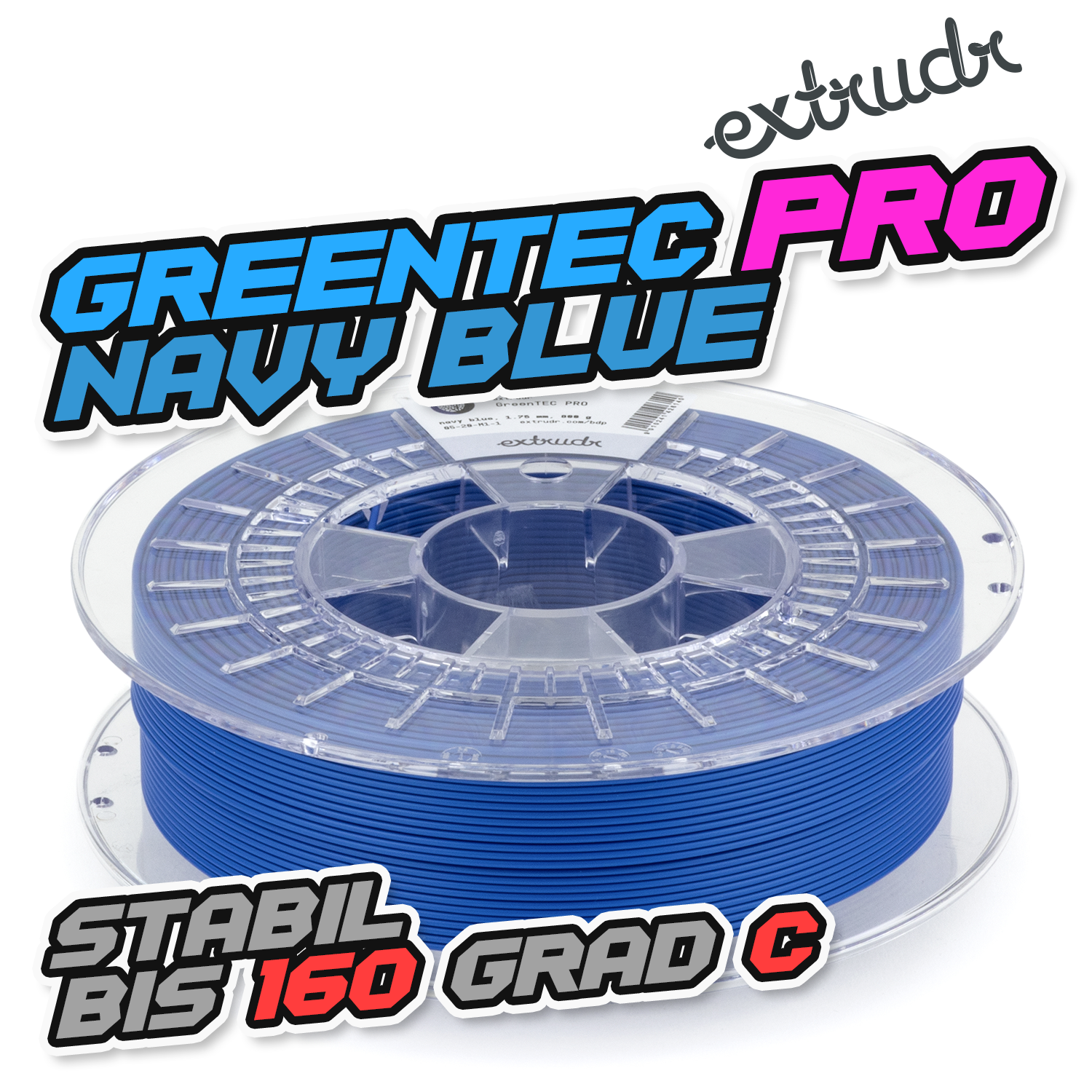 Extrudr GreenTEC PRO - Navy Blue [1.75mm] (56,24€/Kg)