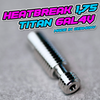Tuning Heatbreak TITAN 6AL4V [V6 / E3D / Titan Aero] MADE IN GERMANY