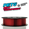 M4P PETG - Rot Transparent [1.75mm] (27,93€/Kg)