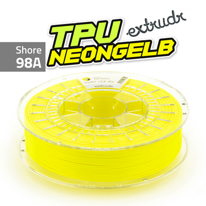 Extrudr TPU - Neongelb [1.75mm] (39,98€/Kg)