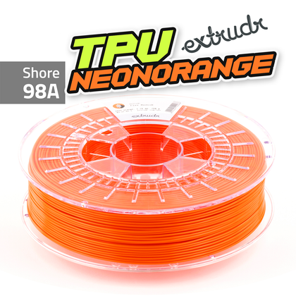 Extrudr TPU - Neonorange [1.75mm] (39,98€/Kg)