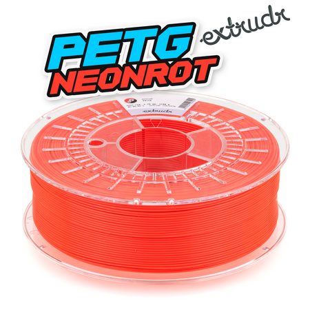 Extrudr PETG - Neonrot [1.75mm] (35,45€/Kg)