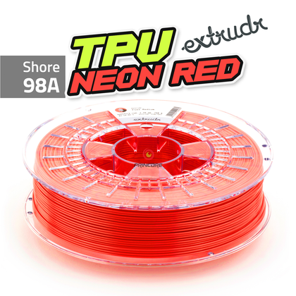 Extrudr TPU - Neon Red [1.75mm] (39,98€/Kg)