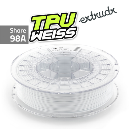 Extrudr TPU - Weiss [1.75mm] (39,98€/Kg)