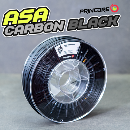 PRINCORE ASA CARBON - Black [1.75mm] (62,49€/Kilo)