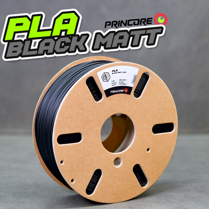 PRINCORE PLA - BLACK MATT [1.75mm] (25,99€/Kg)