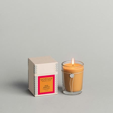 Aromatic Candle - Pink Mimosa 6.8 oz