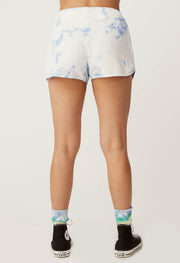 DAYDREAMER- Sunny People Sweat Short In Periwinkle Cloud