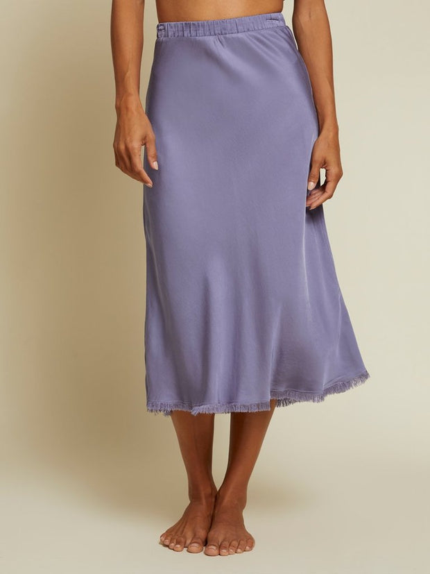 NATION- Mabel Luxe Sateen Skirt