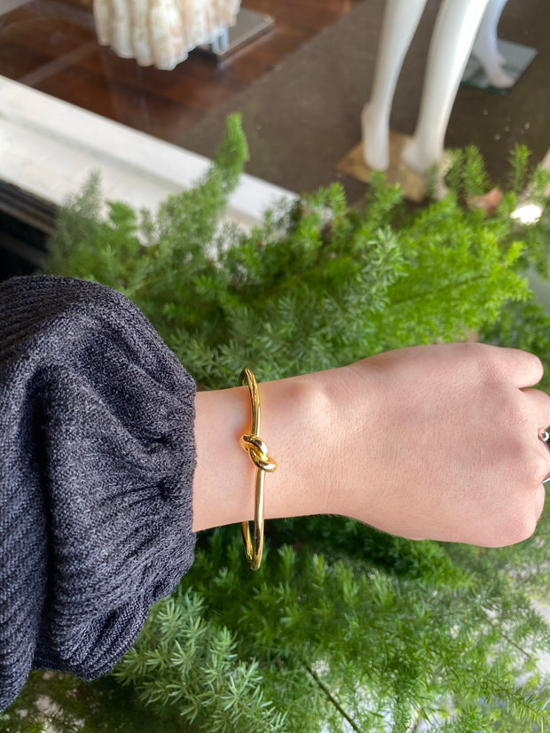 Knotted Cuff - Gold