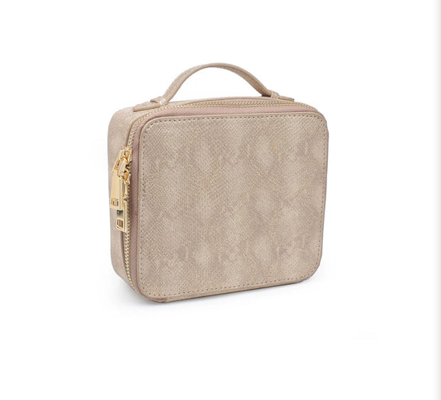 Beatrix Make Up Bag - Gold