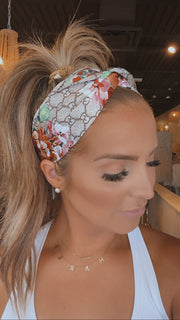 Gucci Inspired Silk Headband