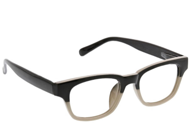 Peepers Layover Readers - Black/Tan