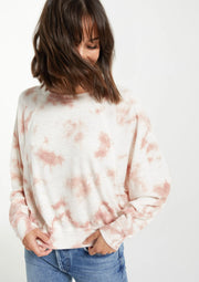 The Claire Cloud Tie Dye Top