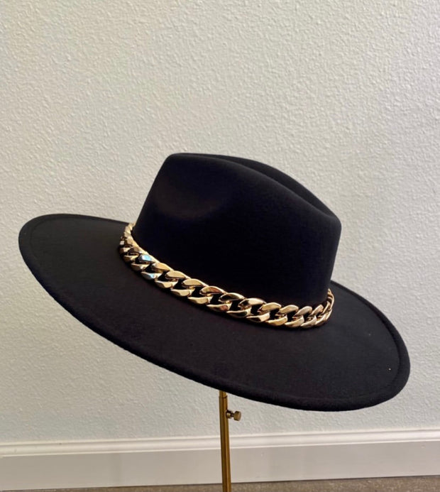 Gold Chain Hat