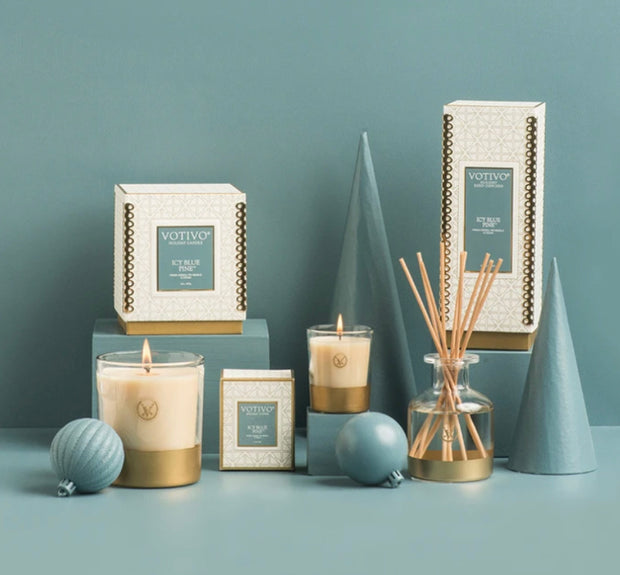 Icy Blue Pine Reed Diffuser - 4.1floz