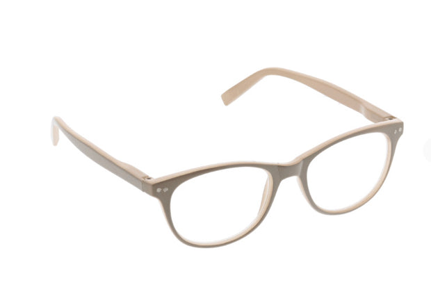 Peepers Mellow Out Readers - Taupe
