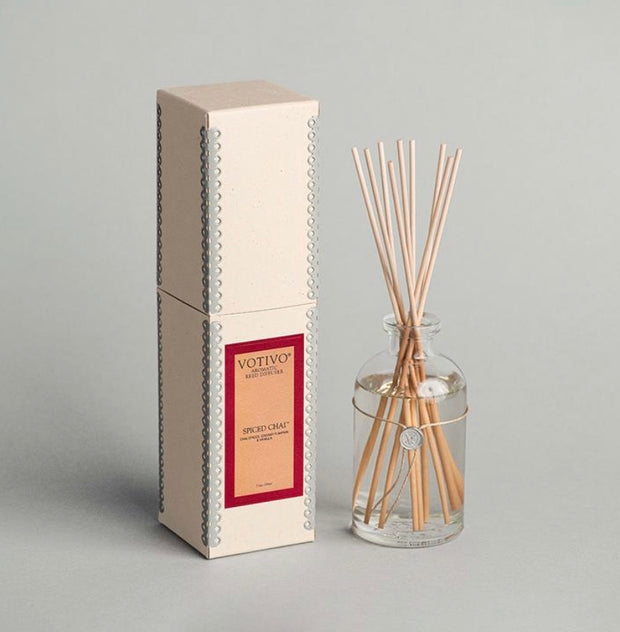 Aromatic Reed Diffuser - Spiced Chai 7.3 fl oz