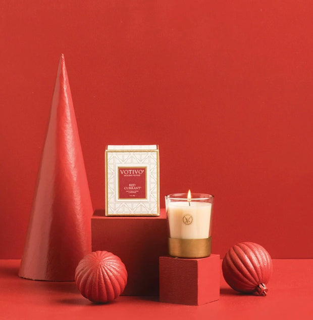 Red Currant Holiday Votive Candle  - 2.1oz
