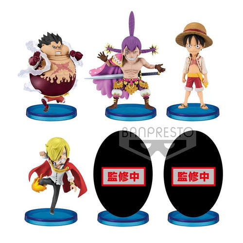 PREORDER WCF -Battle of Luffy Whole Cake Island- (Set of 6)