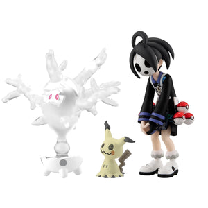 PREORDER Pokemon Scale World Galar Allister, Mimikyu, and Cursola