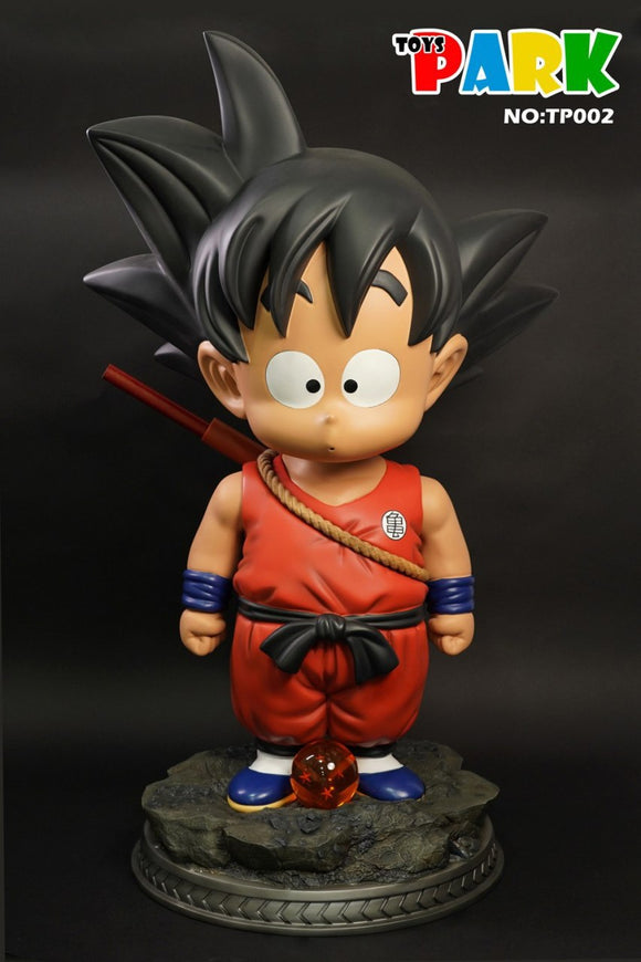 PREORDER Life Size Child Goku Statue