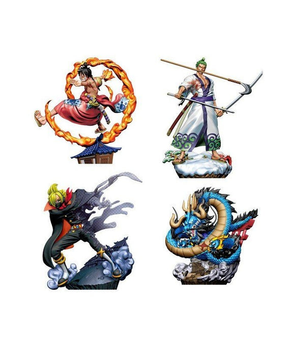 PREORDER One Piece Logbox Re:Birth Wanokuni vol.1 (Set of 4)