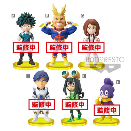 PREORDER WCF My Hero Academia vol.1 (Set of 6)