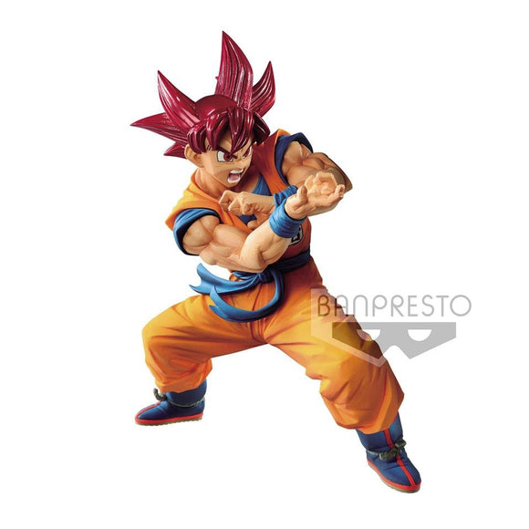 PREORDER Blood of Saiyans VI Super Saiyan God Son Goku
