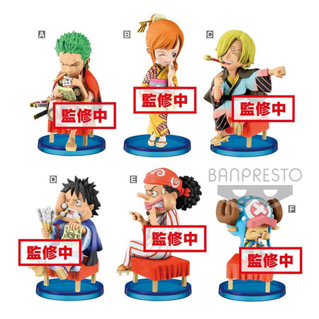PREORDER One Piece WCF Japanese Style (Set of 6)
