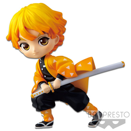 PREORDER Qposket Petit vol.1 -Zenitsu Agatsuma- (Re-issue)