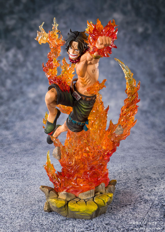 PREORDER Figuarts Zero Portgas D. Ace -Whitebeard Pirates 2nd Commander-