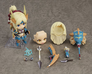 PREORDER Nendoroid Hunter: Female Zinogre Alpha Armor Ver. DX