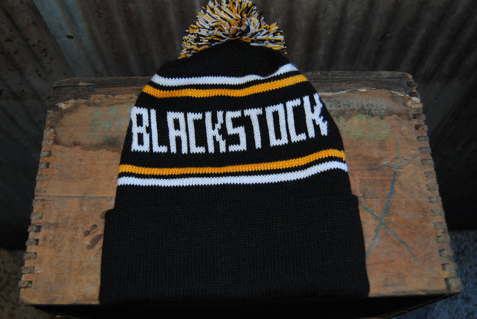 Black Stock Stocking Caps