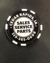 Black Stock Limited Edition Poker Chip