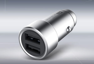 USB Port 2- fach Kfz High Speed Adapter 12 V/ 24 V - Midyatmarkt