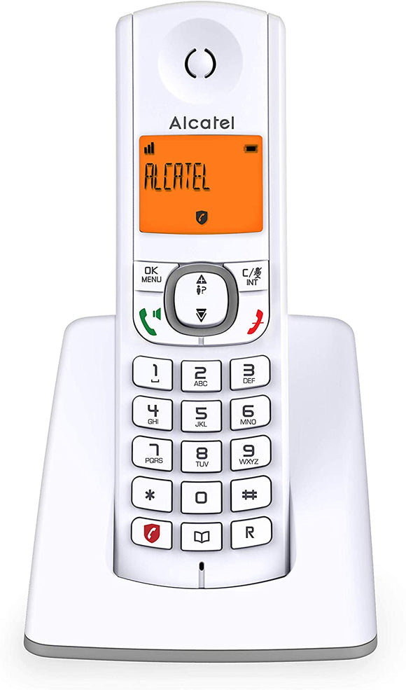 Alcatel F530 Candy-Bar Festnetztelefon.