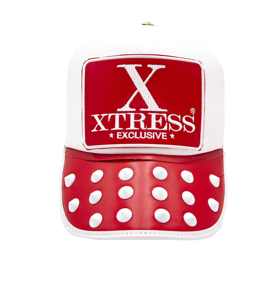 XTRESS BASIC WHITE RED