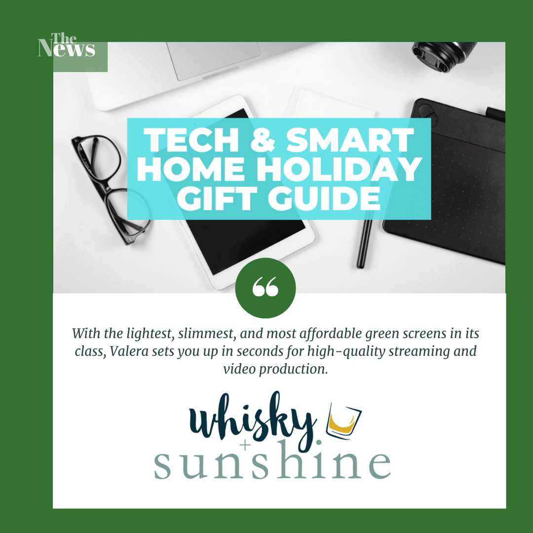 Best Tech and Smart Home Gifts Curated by Whisky and Sunshine