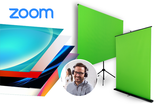 green screens for zoom meetings, virtual background