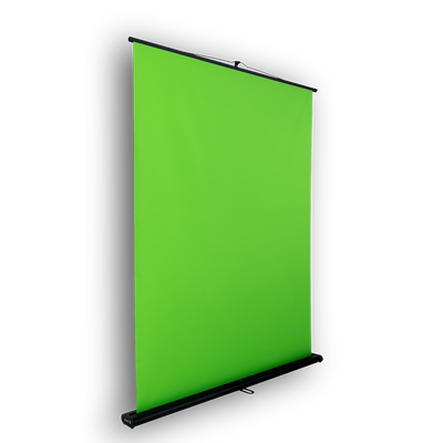 Front view of Creator 95 green screen and chromakey backkdrop